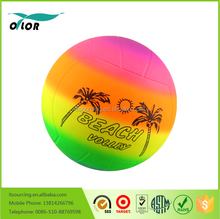 Wholesale High Quality Colorful Rainbow Beach Volleyball Ball