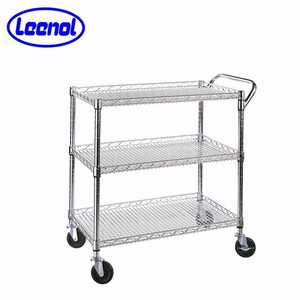 4 Shelves ESD Wire Utility Cart