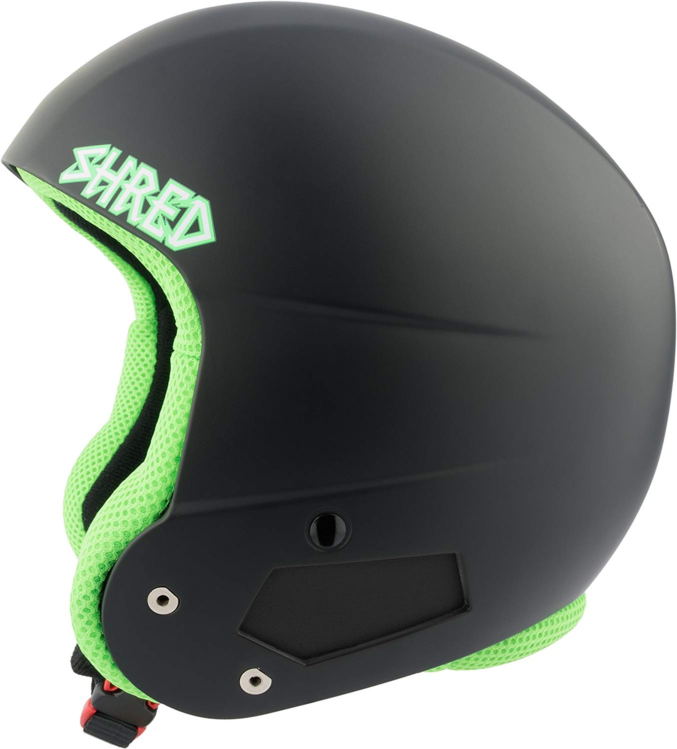 SHRED Brain Bucket Don Helmet, Black, Small/Medium