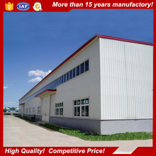 SGS Certified Low Cost and Long Live prefabricated cement warehouse design