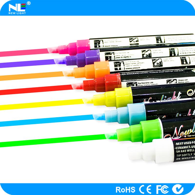 Securit Chalk Marker Paquete de 4 rotuladores