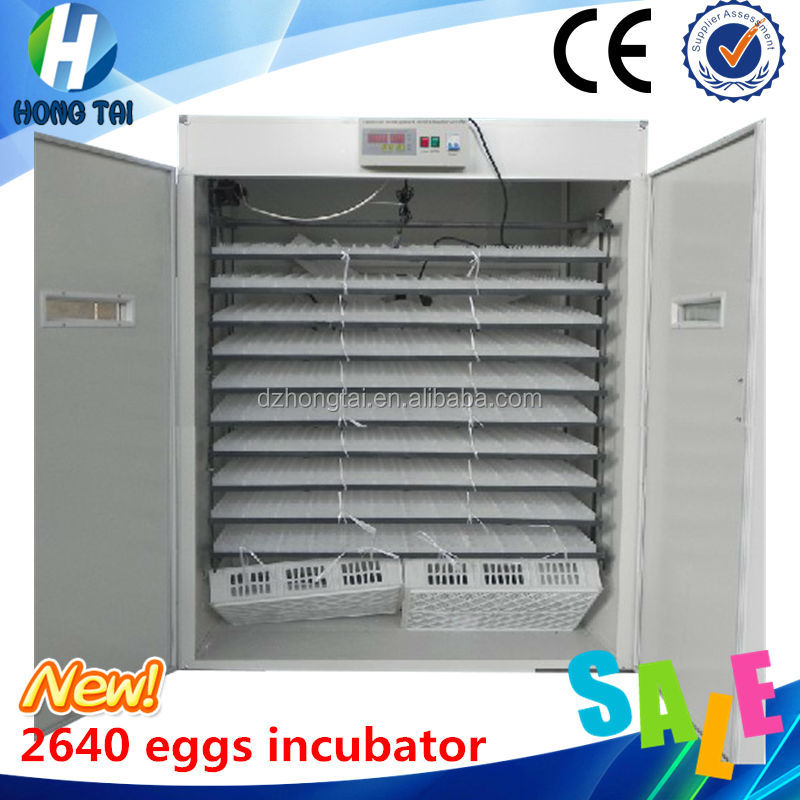 New Condition Hatchery Machine 2640 eggs automatic hatchery machine