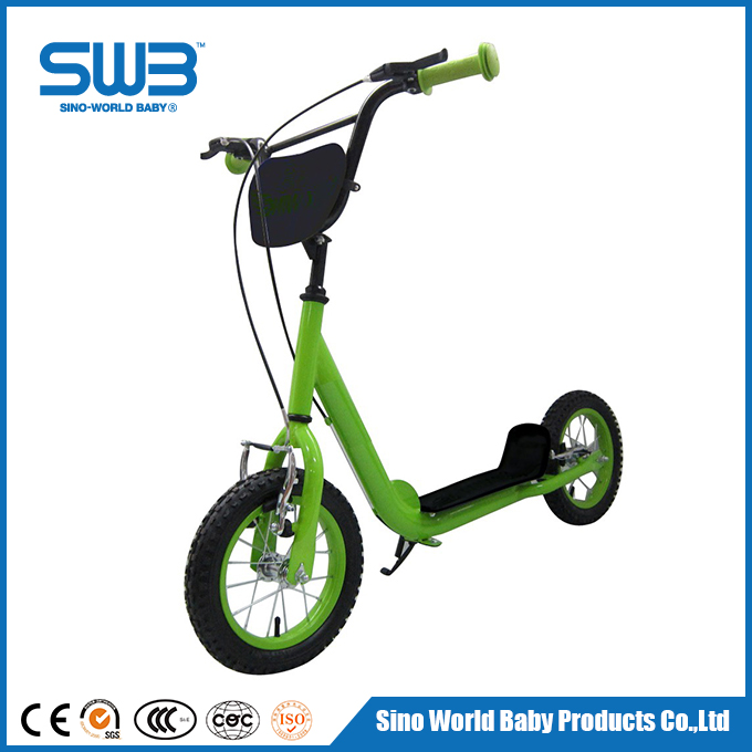 Low price airwheel scooter, soft TPR grips wholesale kids scooter