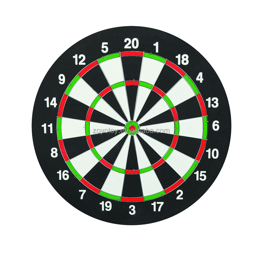 "17"" inch paper dartboard for promotional games with good price good quality dartboard surround portable dartboard stand"