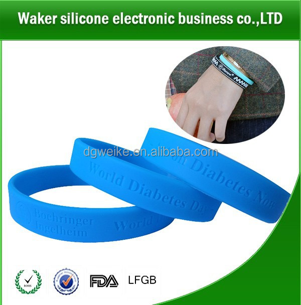 Promotion custom silicone band/silicone bracelet/silicone bangle