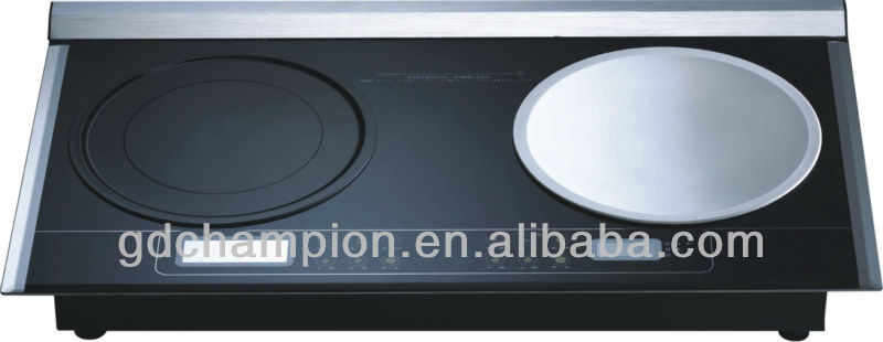 two types burners gas cooktops