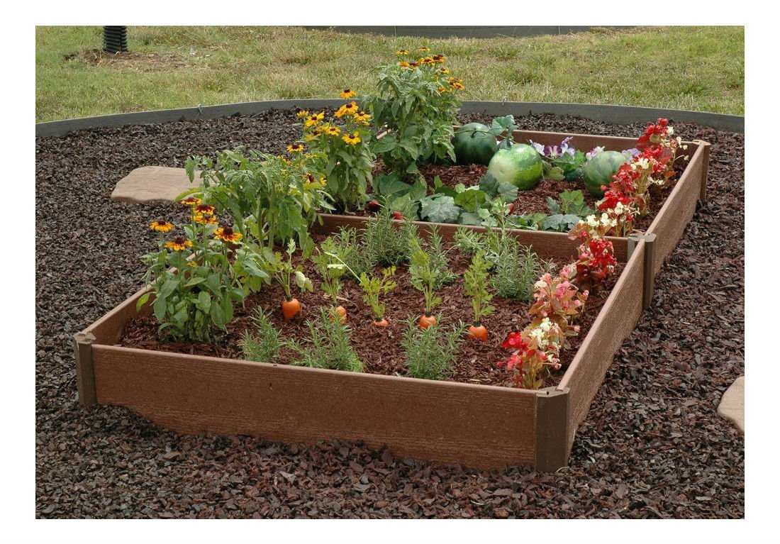 "New 84"" x 42"" Raised Garden Bed Planter Kit Gardening Vegetable Gardener Frame"