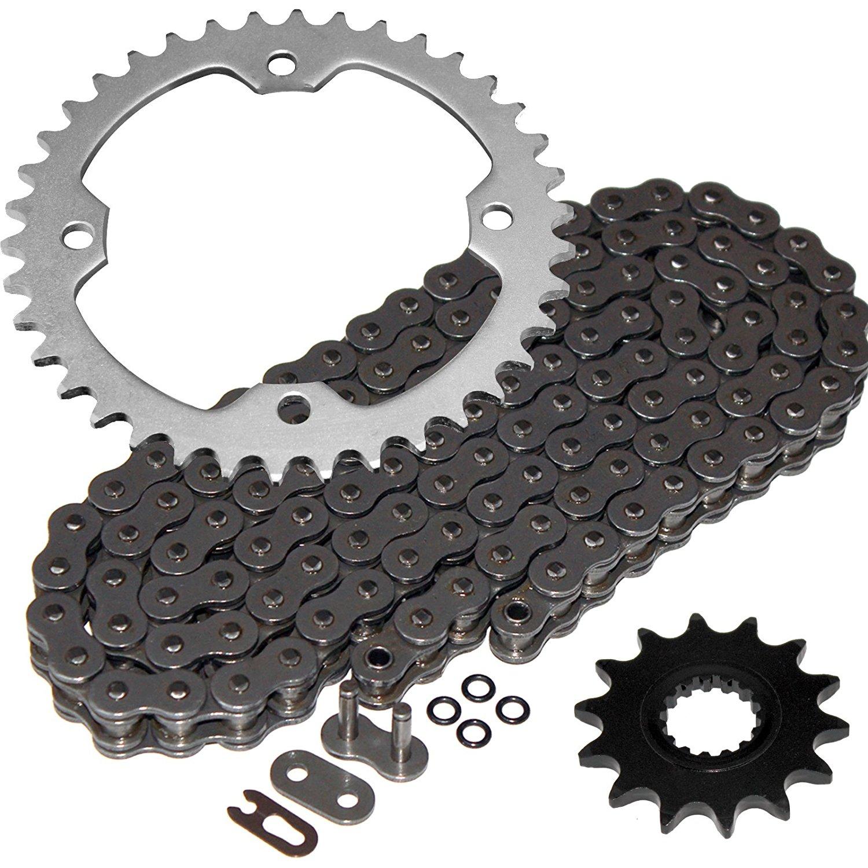 Caltric Red O-Ring Drive Chain /& Sprockets Kit Fits HONDA 600RR CBR600RR CBR-600RR 2003-2006