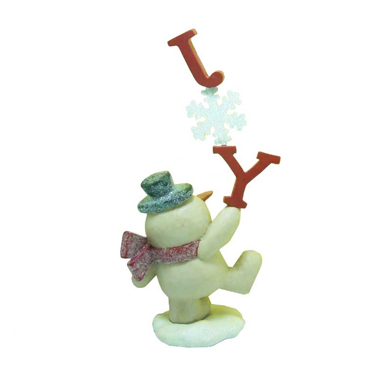 Wholesale resin christmas decorative snowman
