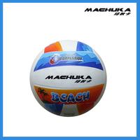 MACHUKA Outdoor Sand Beach Wholesale Superfine fiber Sewing machine Balloon Volleyball