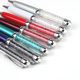 Hot selling promotional metal crystal cute stylus pen with company Logo