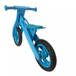 2018 high quality colorful cartoon children running bicycle kids first bike balance bike wooden balance bike for baby