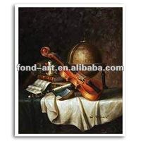 SL315-G3 Hand-made Art Canvas Still Life Oil Painting