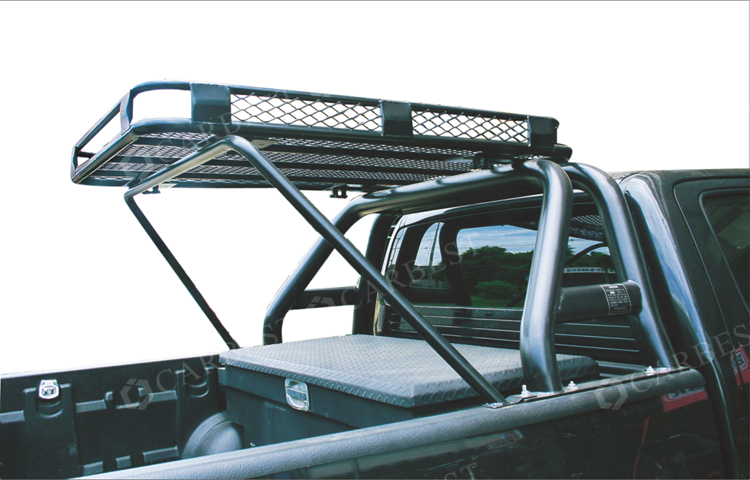 good quality steel powder coated roof rack with steel roll bar for vigo 05 11 buy roll bars. Black Bedroom Furniture Sets. Home Design Ideas