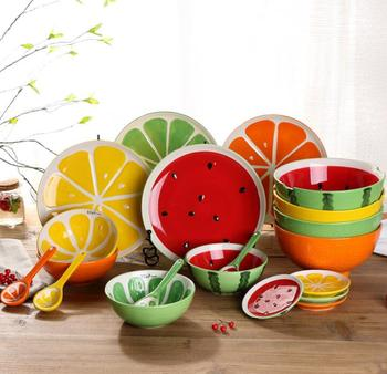 fruit painting ceramic dishesfancy dinner platefruit shape plates & Fruit Painting Ceramic DishesFancy Dinner PlateFruit Shape Plates ...