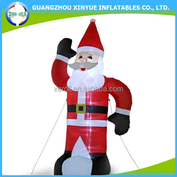2015 happy christmas giant lowes christmas inflatable santa claus - Lowes Inflatable Christmas Decorations