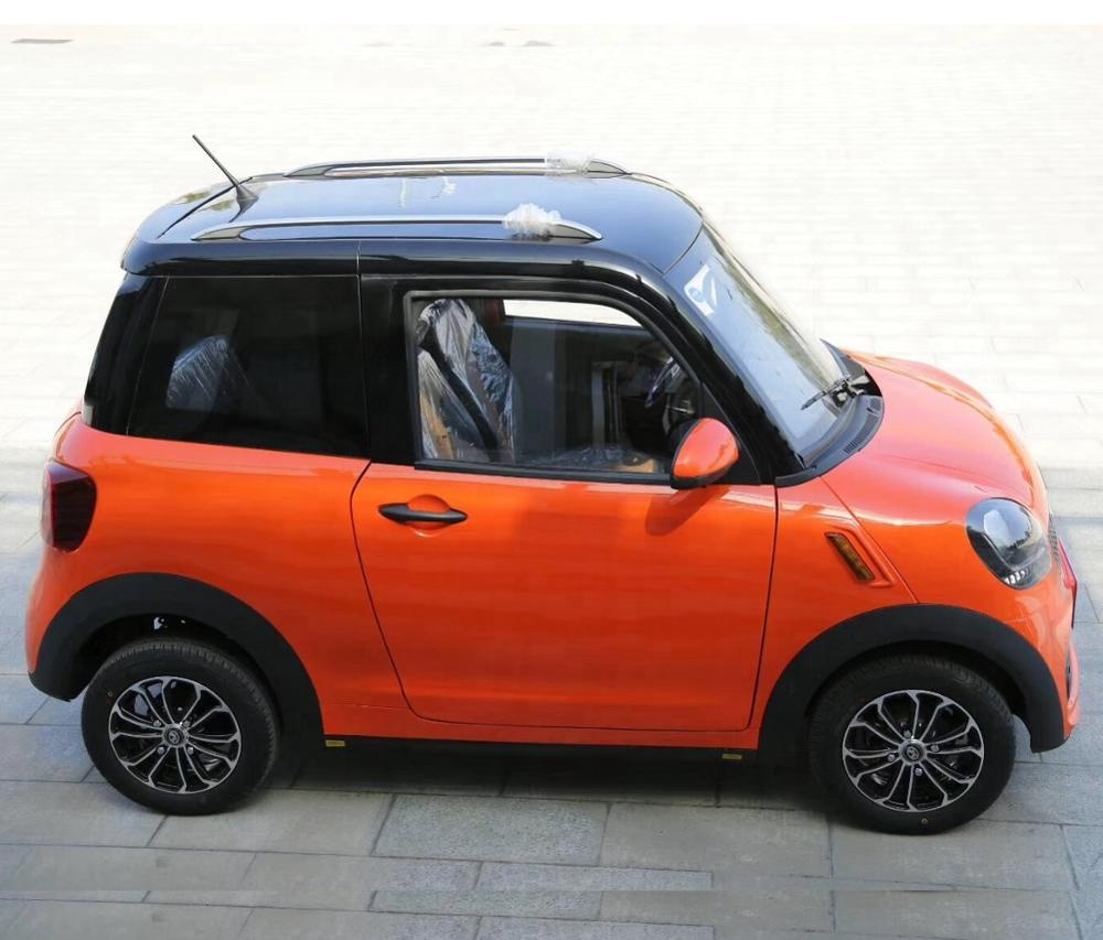 Big Power 6 Pcs Battery Electric Vehicle 4 Seats Hatchback Mini <strong>Car</strong>