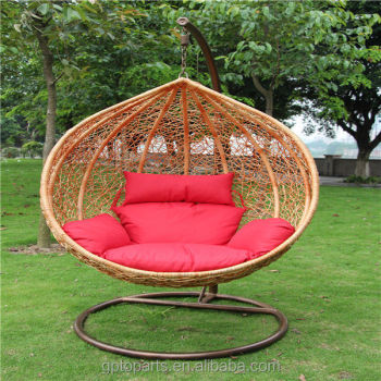 Delicieux Patio Swings Indoor Outdoor Furniture Rattan Swing Chair Garden Rattan Nest  Swing Garden Rattan Wicker Rocking