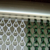 Luxury green Aluminum Chain Link Backdrop Curtain