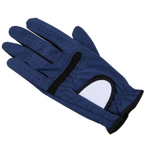 High quality new design green cabretta golf gloves