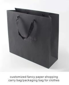 Junye לוגו מודפס מותאם אישית OEM עבה נייר תיק, מאט למינציה גדול במיוחד נייר תיק יצרן, קניות תיק מותאם אישית נייר תיק
