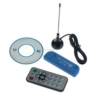 USB 2.0 Digital DVB-T SDR+DAB+FM HDTV TV Tuner Receiver Stick R820T2