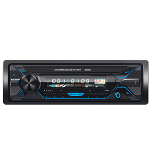 Single Din Car Detachable Panel MP3 Player with FM/USB/SD/AUX 7377 IC 4*7W and Bluetooth