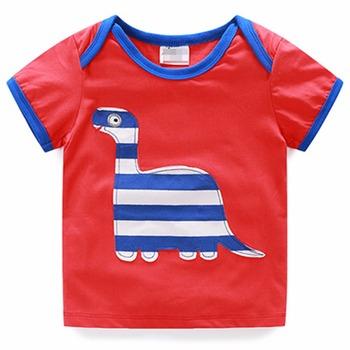 33df8748a1b9 Children s T Shirt Boys T-shirt Baby Clothing Little Boy Summer Shirt  Cotton Tees Cartoon