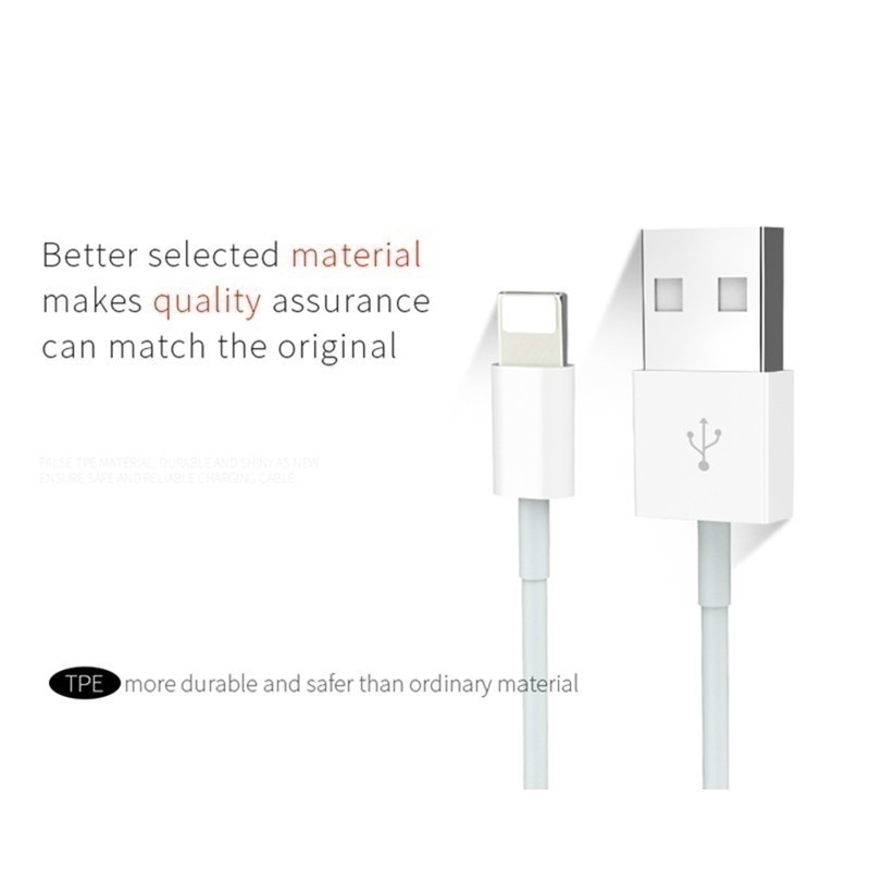 3PCS Fast Charging Charger Data Sync Cable for Chargers Wire Cord Line for iPhone&Android&Type-c USB Charger