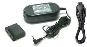 Compact Power Ac Adapter ACK-DC20 + DR-20 DC Coupler for Canon S80 G7 G9