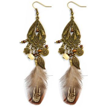 Xp Te 2188 Dangle Big Bali Jewelry Seed Bead Tassel Earring Buy