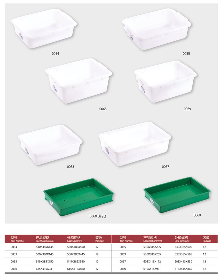 Restaurant Kitchenware eurohome wholesale restaurant kitchenware white plastic tote box
