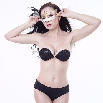comprare bene a piedi a vari design Ingrosso Di Grandi Dimensioni Nudo Nero Reggiseno Invisibile Di ...