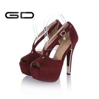 2015 Gd Sex Women High Heels Shoes Nice Pumps Shoes Zebra Shoes ...