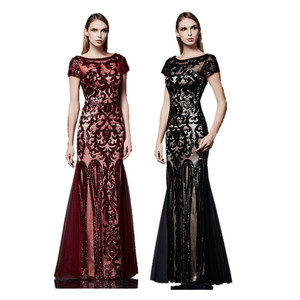 7557d4fc8804 Sequined Evening Dress, Sequined Evening Dress Suppliers and Manufacturers  at Alibaba.com