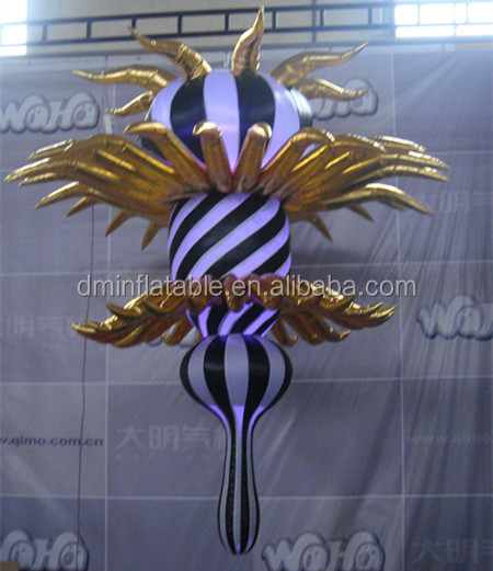 PVC material advertising inflatable flower/inflatable flower