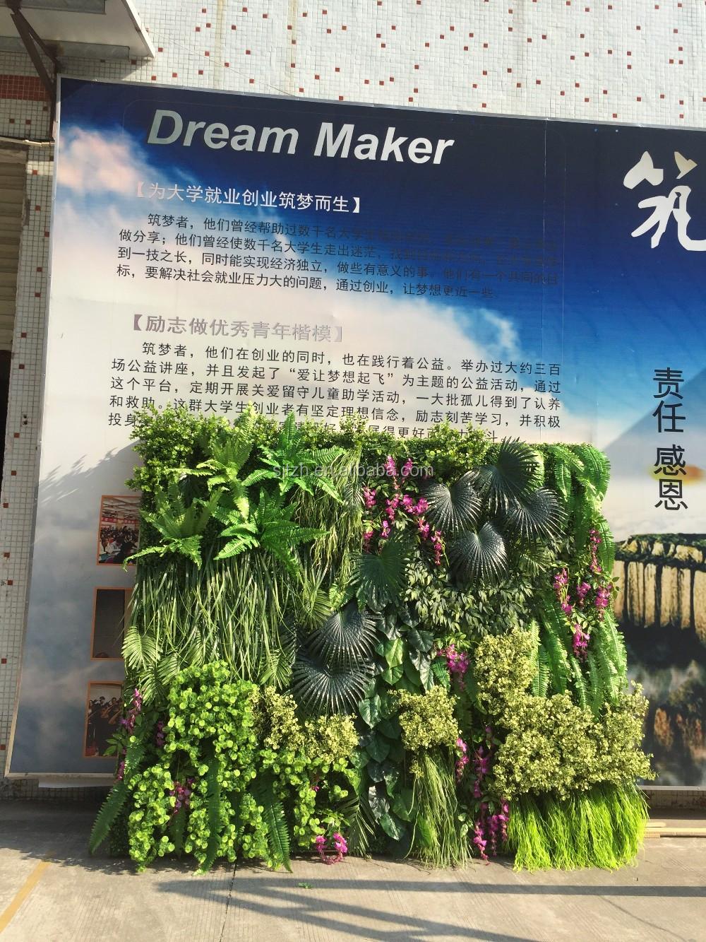 Genial Pflanzen Wand Ideen Von Langlebige Diy Gefälschte Dekorative Künstliche Pflanze Für