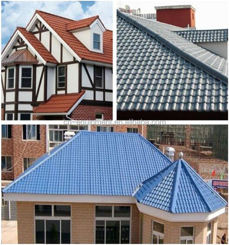 Carbon fiber reinforced plastic roofing sheet in Indonesia/Asa roof tile