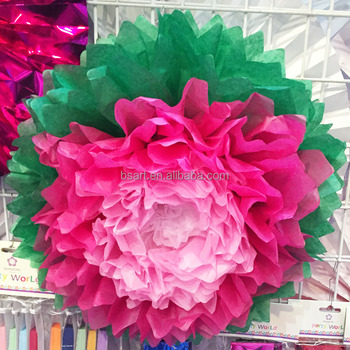 Decoration Tissue Paper Flower Buy Paper Flower Decoration Tissue Paper Flower Paper Flower Product On Alibaba Com