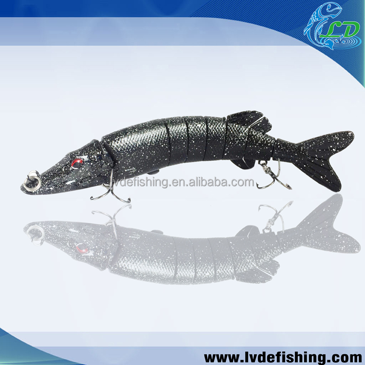 Hot popular soft plastic fishing lures northen pike musky fishing lure