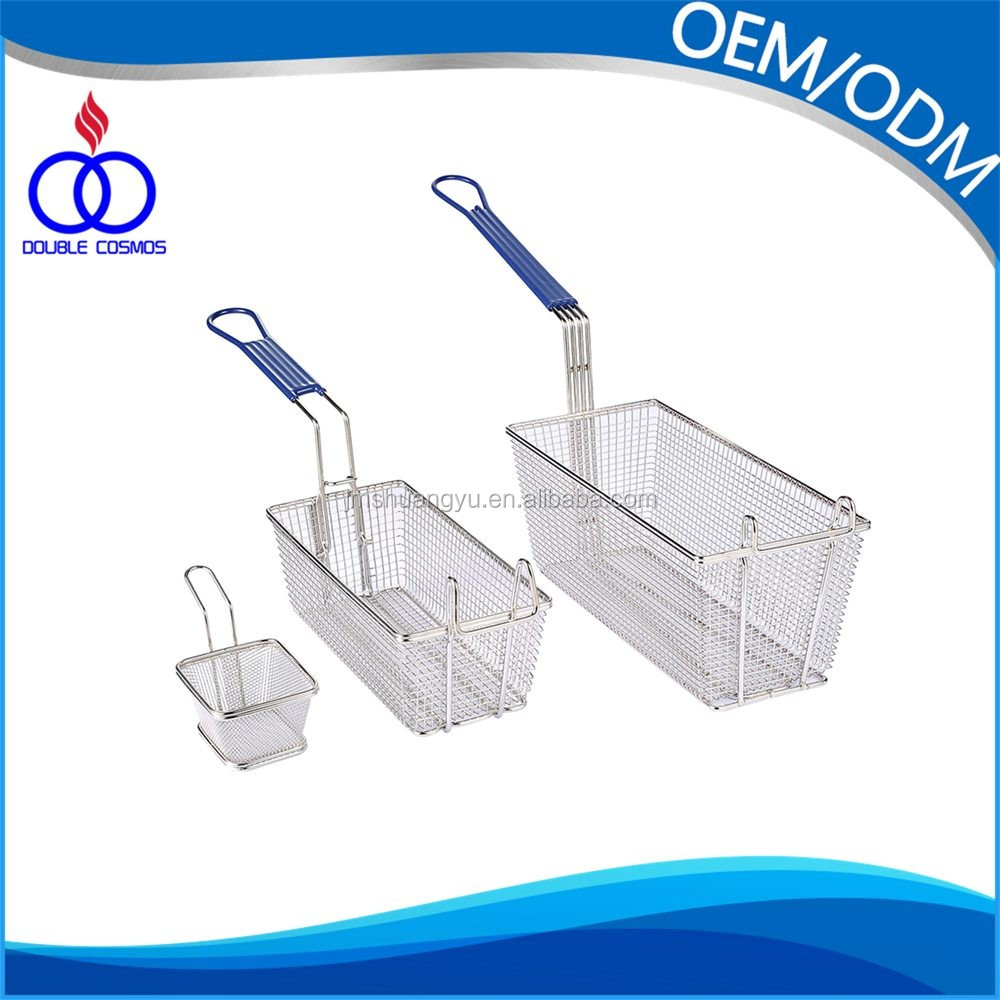 Stainless Steel Commercial Deep Fryer Baskets