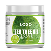 100% Natural Exfoliating Pure Tea Tree Whitening Body Scrub