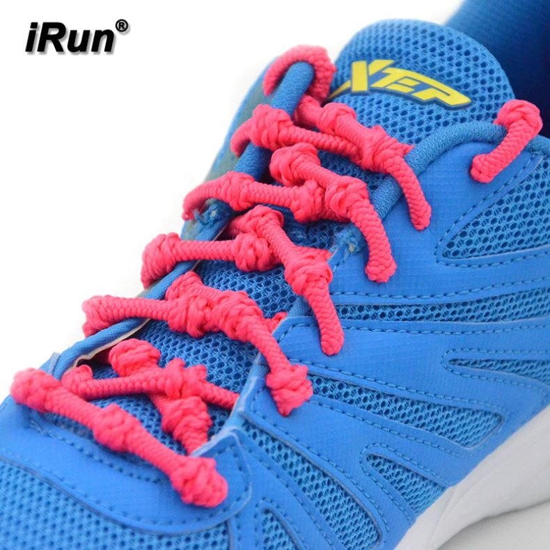 White Bungee Shoe Laces Elastic Run Running Sport Lock Toggle Tri Triathlon Lace