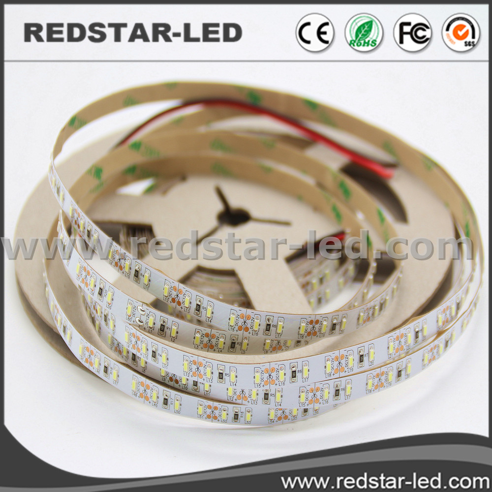 Super Bright Warm White 7mm Led Stripe 220v Dimmable Led Strips Smd 3014 Side View Led Strip For Decoration