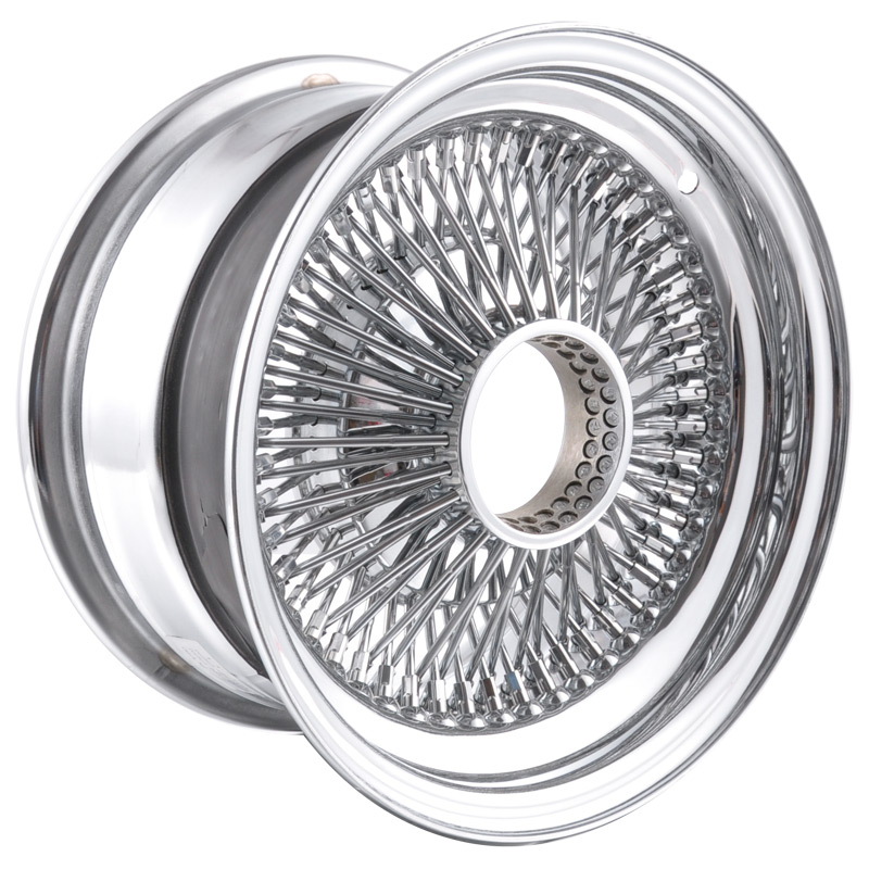 Chrome Spoke Wire Wheel for Car