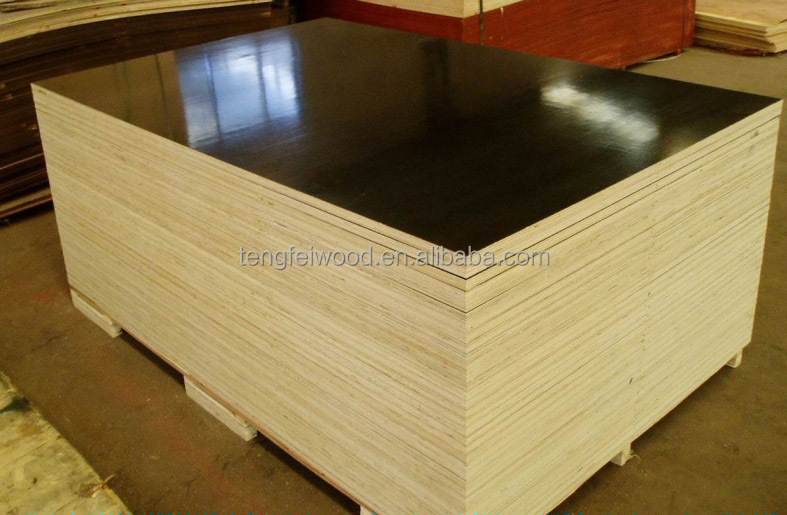 4x8x18mm Film Faced Marine Plywood For Construction Use