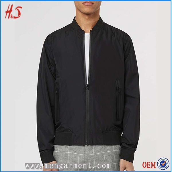 OEM Service Top Selling Sporty Look Jacket Classic Bomber Jackets For Men