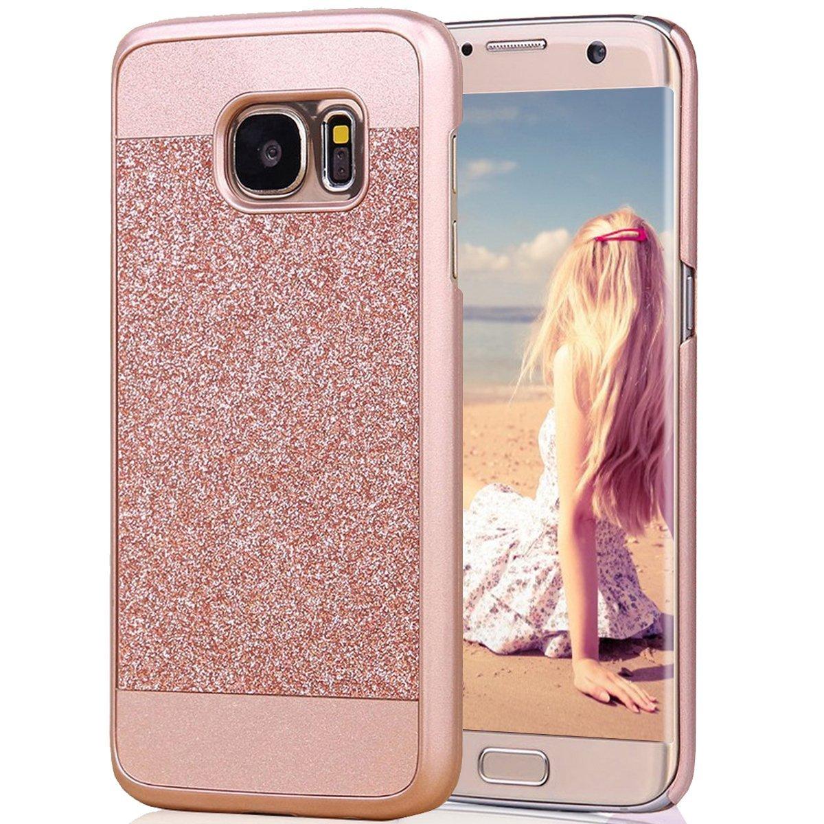 the latest fedac 30e10 Buy Galaxy S7 Edge Case, Imikoko™ Rose Gold Luxury Hybrid Beauty ...