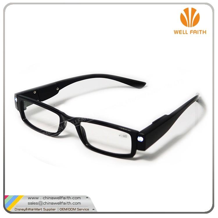 2017 led reading glasses with led light buy led reading