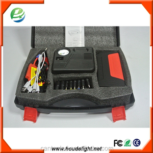 Battery for charge car,phone,desktop/LCD green 14000mah with safty hammer